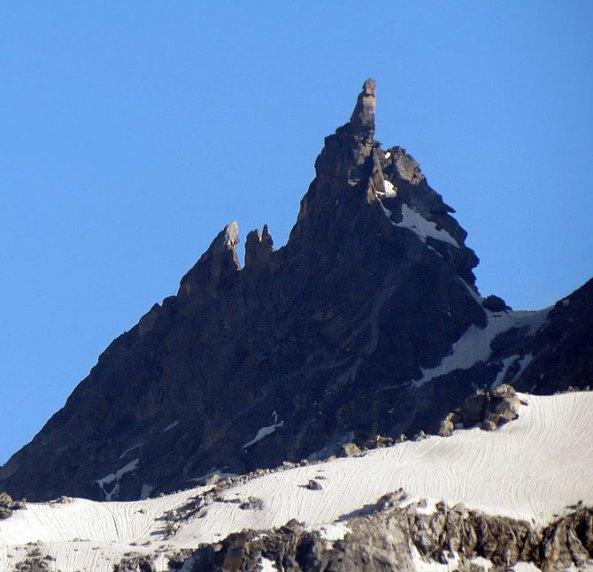 Hampta Pass (4268 meters) in Manali region of Himachal Pradesh.